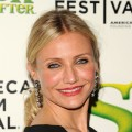 Cameron Diaz attends the 2010 Tribeca Film Festival opening night premiere of 'Shrek Forever After' at the Ziegfeld Theatre, NYC, April 21, 2010