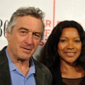 Tribeca Film Festival co-founder Robert De Niro and Grace Hightower attend 'Straight Outta L.A.' during the 2010 Tribeca Film Festival, NYC, April 23, 2010
