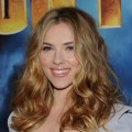 Scarlett Johansson attends the photo call for Paramount Picture&#8217;s and Marvel Entertainment&#8217;s &#8216;Iron Man 2&#8217; at the Four Seasons Beverly Hills on April 23, 2010