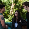 Jacob, Bella and Edward face off in a scene from &#8216;The Twilight Saga: Eclipse&#8217;
