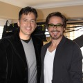 Access&#8217; Tony Potts and Robert Downey Jr. at the &#8216;Iron Man 2&#8217; press junket on April 26, 2010 in Los Angeles