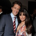 &#8216;Glee&#8217; stars Matthew Morrison and Lea Michele attend Fox&#8217;s &#8216;Glee&#8217; spring premiere soiree held at Bar Marmont on April 12, 2010 in Los Angeles