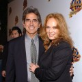 Peter Lopez and Catherine Bach attend a Warner Bros. event, Jan. 20, 2005
