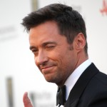 Hugh Jackman winks at the fans at the Fifth Annual &#8216;A Fine Romance&#8217; Benefit Gala in Century City, Calif., on May 1, 2010