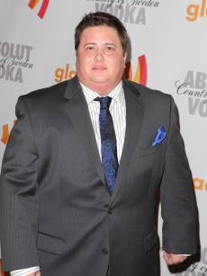 Chaz Bono arrives at the 21st Annual GLAAD Media Awards held at Hyatt Regency Century Plaza in Century City, California on April 17, 2010