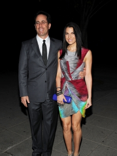 Jerry Seinfeld and wife Jessica Seinfeld attend the Vanity Fair party before the 2010 Tribeca Film Festival at the New York State Supreme Court on April 20, 2010