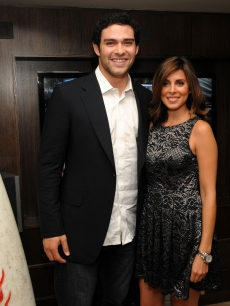 Mark Sanchez of the New York Jets and Jamie-Lynn Sigler attend LG Infinia Premiere of &#8216;Keep Surfing&#8217; during the 2010 Tribeca Festival at The 2010 Tribeca Film Festival, NYC, April 26, 2010
