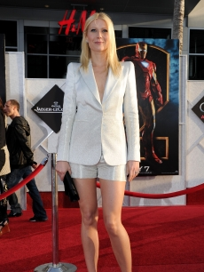 Gwyneth Paltrow arrives at the world premiere of Paramount Pictures and Marvel Entertainment's 'Iron Man 2� held at El Capitan Theatre on April 26, 2010 in Hollywood, California