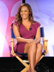 Mel B talks with reporters at the NBC Universal Summer Press Day in Pasadena, Calif. on April 26, 2010. She's taking over as host of 'Dance Your Ass Off.'