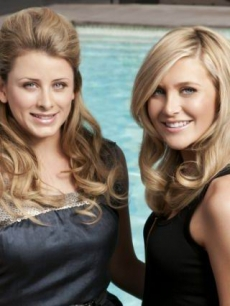Lo Bosworth and Stephanie Pratt from MTV's 'The Hills' Season 6