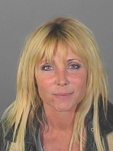 Pamela Bach's booking photo (April 29, 2010)