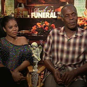 Danny Glover & Regina Hall Talk 'Death At A Funeral'