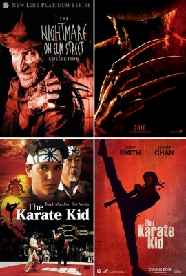 &#8216;A Nightmare on Elm Street&#8217; and &#8216;The Karate Kid&#8217;