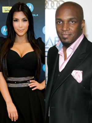 Kim Kardashian and her ex-husband, Damon Thomas