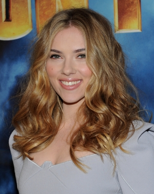 Scarlett Johansson attends the photo call for Paramount Picture's and Marvel Entertainment's 'Iron Man 2' at the Four Seasons Beverly Hills on April 23, 2010