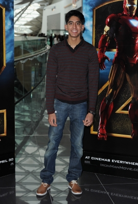 Dev Patel attends the 'Iron Man 2' VIP screening at Vue cinema Westfield, London, April 26, 2010