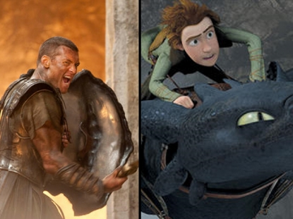 'Clash of the Titans' and 'How To Train Your Dragon'