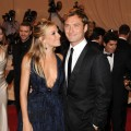 Sienna Miller and Jude Law attend the Costume Institute Gala Benefit to celebrate the opening of the &#8216;American Woman: Fashioning a National Identity&#8217; exhibition at The Metropolitan Museum of Art, NYC, May 3, 2010