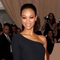 Looking sleek and stunning, Zoe Saldana attends the Costume Institute Gala Benefit at The Metropolitan Museum of Art, NYC, May 3, 2010