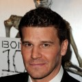 David Boreanaz arrives at Fox TV's celebration of 'Bones' 100th episode at 650 North, Los Angeles, April 7, 2010