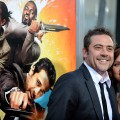 Jeffrey Dean Morgan and Hilarie Burton arrive at the premiere of 'The Losers' in Hollywood, California, on April 20, 2010
