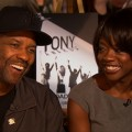 Denzel Washington & Viola Davis Jump Over 'Fences'