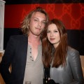 Jamie Campbell Bower and Bonnie Wright attend the Gucci Icon Temporary store opening in London, England on April 21, 2010 