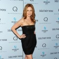 Jenna Fischer goes for the LBD (little black dress) as she attends the premiere of &#8216;Solitary Man&#8217; at Cinema 2, NYC, May 11, 2010