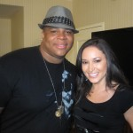'American Idol's' Michael Lynche with Accesshollywood.com's Laura Saltman