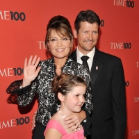 Sarah Palin, Todd Palin and Piper Palin attend Time's 100 most influential people in the world gala at Frederick P. Rose Hall, Jazz at Lincoln Center, NYC, May 4, 2010