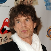 Mick Jagger attends the re-release of The Rolling Stones&#8217; &#8216;Exile on Main St.&#8217; album at The Museum of Modern Art, NYC, May 11, 2010