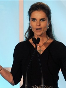Maria Shriver accepts an award for the show at the Academy of Television Arts & Sciences' 3rd Annual Television Academy Honors on May 5, 2010 in Beverly Hills