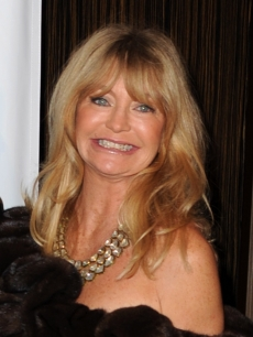 Goldie Hawn on January 22, 2010