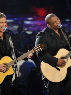Casey James and Michael Lynche duet on Bryan Adams' 'Have You Ever Really Loved A Woman' on 'American Idol' on May 11, 2010