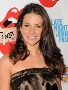 Evangeline Lilly attends the re-release of The Rolling Stones&#8217; &#8216;Exile on Main St.&#8217; album at The Museum of Modern Art, NYC, May 11, 2010