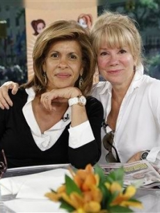 Hoda Kotb and Kathie Lee Gifford go sans makeup on the 'Today' show on May 13, 2010