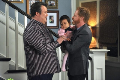 Eric Stonestreet and Jesse Tyler Ferguson on ABC&#8217;s &#8216;Modern Family&#8217;