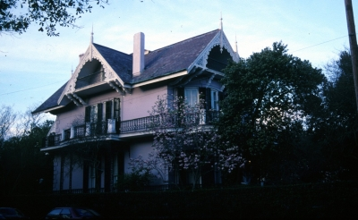 A view of Sandra Bullock's New Orleans home provided by the Tulane School of Architecture New Orleans Virtual Archive