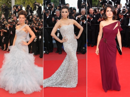 Kate Beckinsale, Eva Longoria Parker and Salma Hayek shine at the 2010 Cannes Film Festival