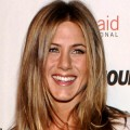 Jennifer Aniston smiles for the DGA press in Los Angeles