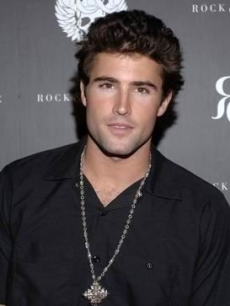 Brody Jenner poses for the Hollywood press