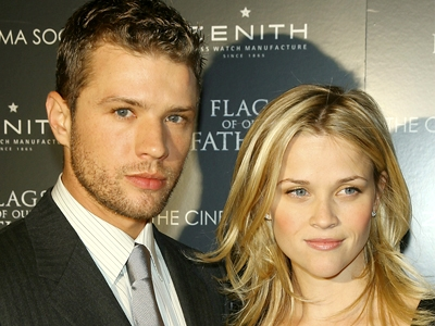 Ryan Phillippe and Reese Witherspoon together in NYC