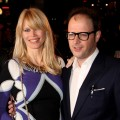 Claudia Schiffer and Matthew Vaughn at the European premiere of 'Kick-Ass' in London, England, on March 22, 2010