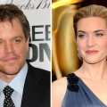 Matt Damon and Kate Winslet