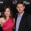 Danneel Harris and Jensen Ackles together at 'The Back-up Plan' premiere in LA on April 21, 2010