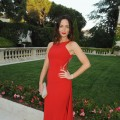 Emily Blunt is ravishing in red at the amfAR Cinema Against AIDS benefit, during the 63rd Cannes international film festival in Cap d'Antibes, France on May 20, 2010