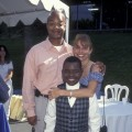 Former 'Diff'rent Strokes' co-stars Todd Bridges, Gary Coleman and Dana Plato at a Fashion Island Fundraiser on May 4, 1997 in Newport Beach, Calif.