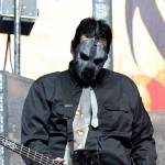 Paul Gray of Slipknot performs at the Rockstar Energy Mayhem Festival at the Verizon Wireless Amphitheater on July 26, 2008 in San Antonio, Texas