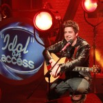 'American Idol' Season 9 winner shares a laugh with Access before performing on 'Beautiful Day,' May 27, 2010