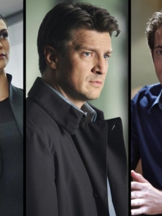 Morena Baccarin of 'V,' Nathan Fillion from 'Castle' and Zachary Levi from 'Chuck'
